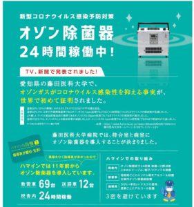 【コロナ対策】オゾンガスがコロナウイルス感染性を抑える事実が、世界で初めて証明されました!